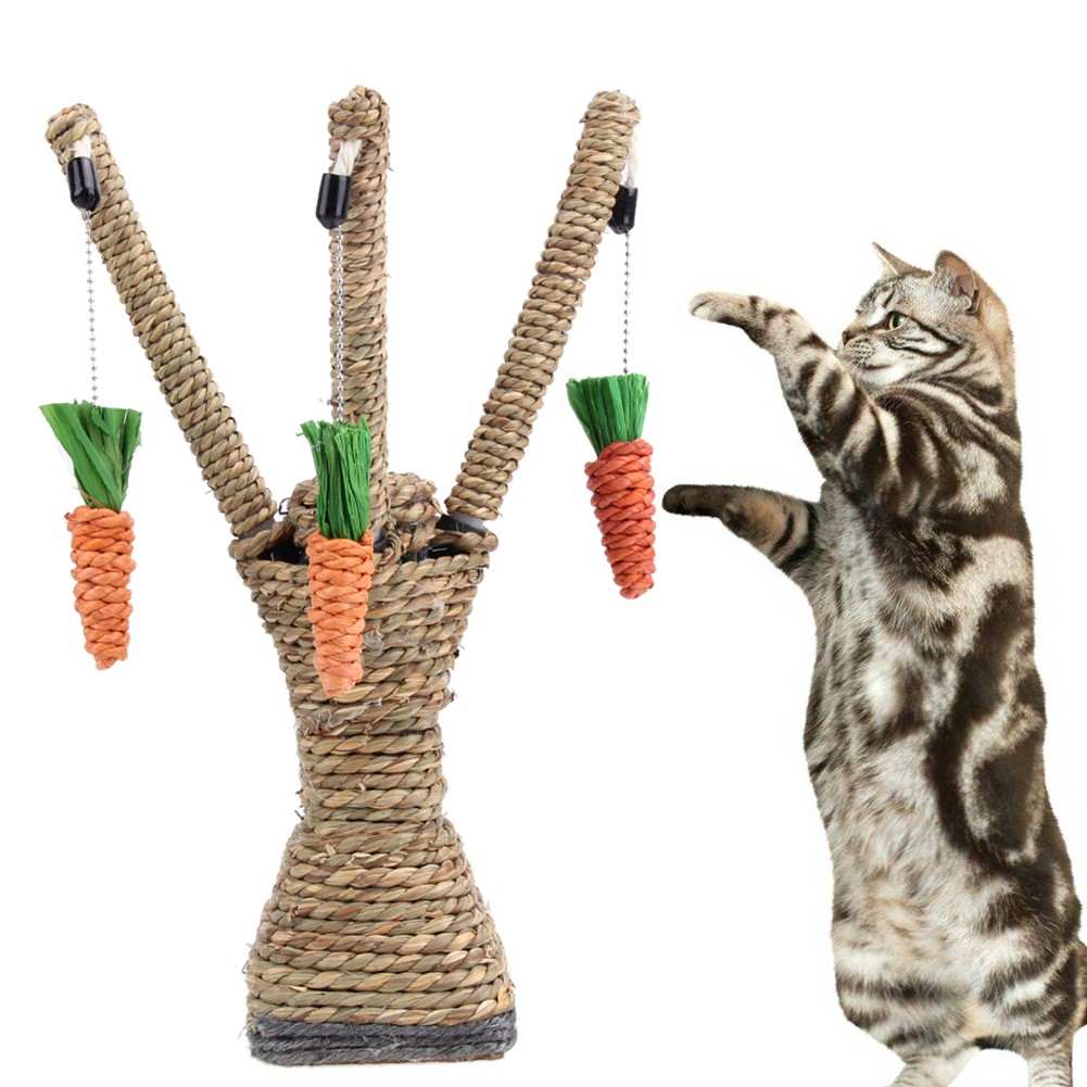 貓爬架劍麻繩貓抓板貓爬架貓玩具劍麻磨爪貓抓柱跳臺
