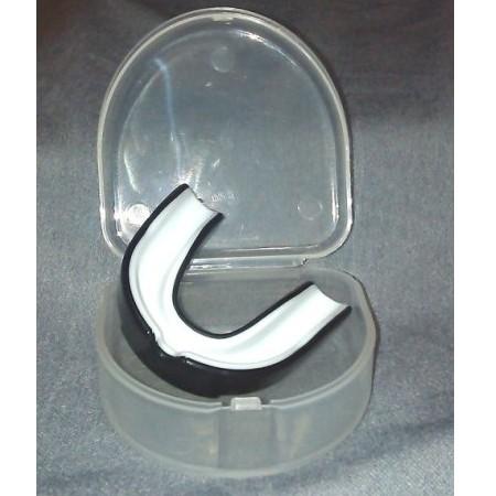 外銷 之雙色防磨牙套單層軟式護牙套1 牙套1NG 收納盒