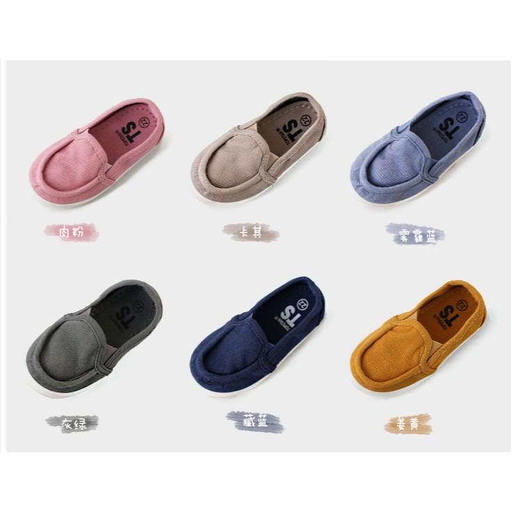 TS 品牌 韓國兒童帆布鞋寶寶布鞋