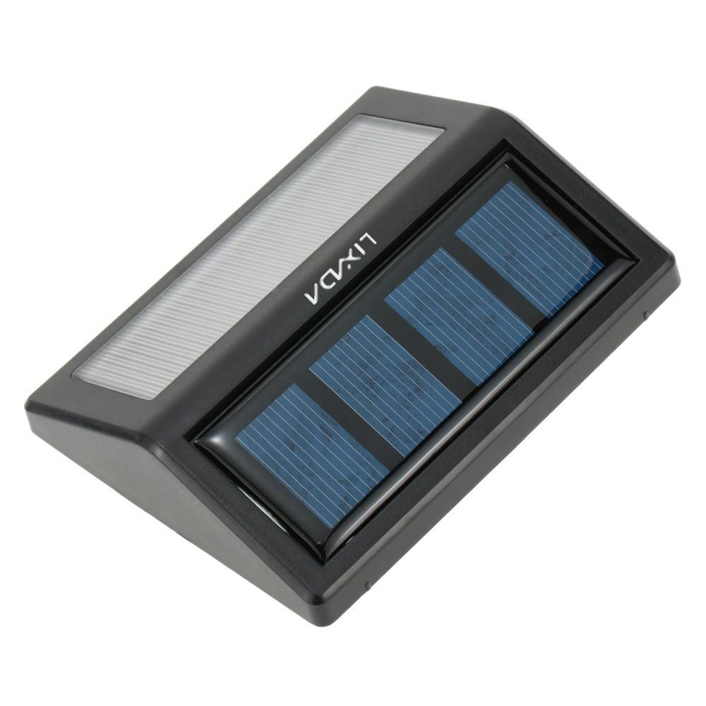 LIXADA 可充電太陽能6 LED 0 36W 12LM 燈光傳感壁燈