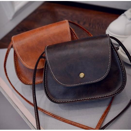 S055 復古簡約迷你小包包相機包側背包單肩包
