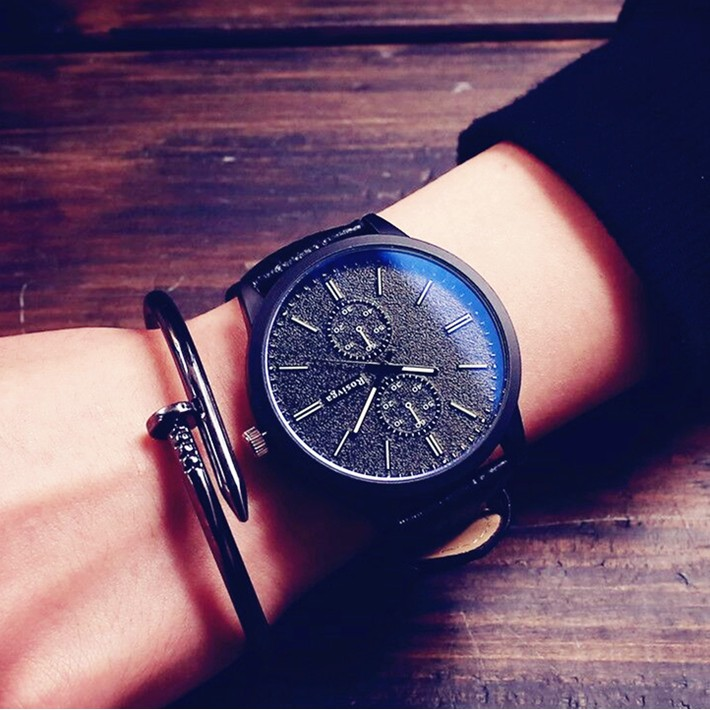 韓國大錶盤 潮流情侶手錶女簡約學生 原宿風權志龍同款男表