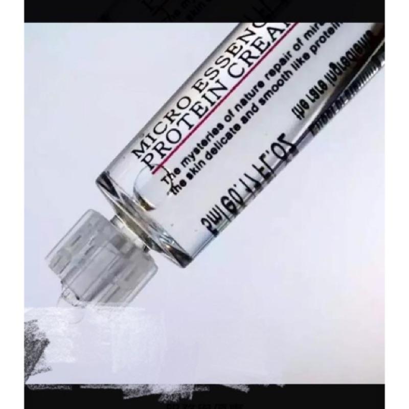 塗抹式水光針保濕補水收縮毛孔緊緻提亮護膚六胜肽玻尿酸精華液5ml 非注射