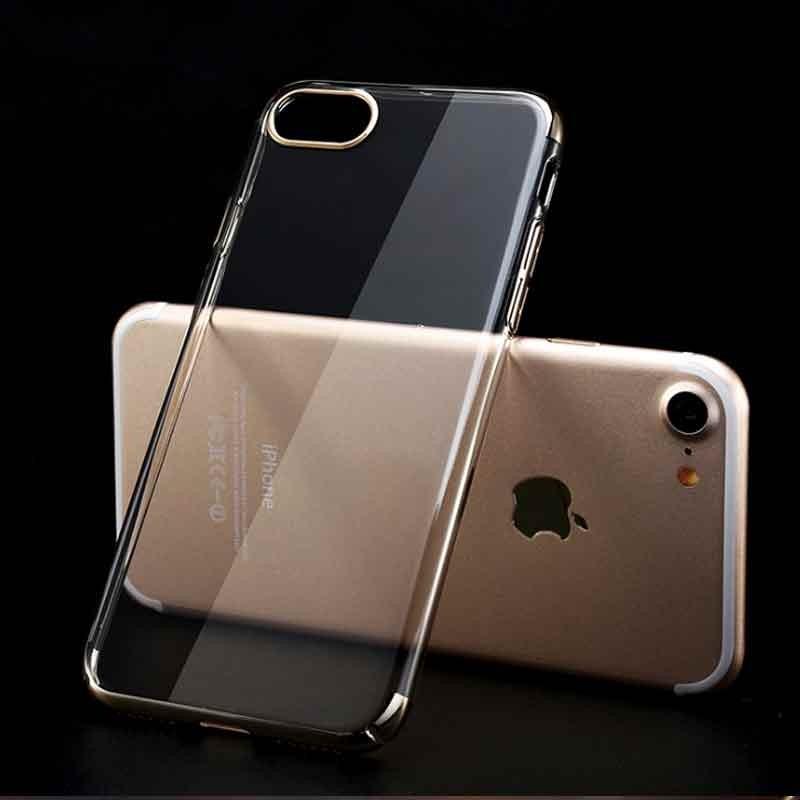 早鳥價Baseus 倍思蘋果iphone7 7plus 手機保護殼透明包邊硬殼