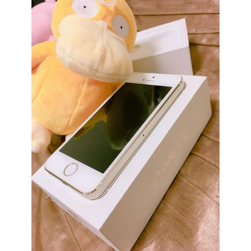 IPhone 5s 香檳金16g 九成新