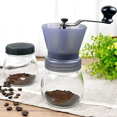 魔法家mocodo 密封罐陶瓷磨豆機咖啡磨豆陶瓷機芯可調粉末粗細手搖手磨手動 製研磨磨粉