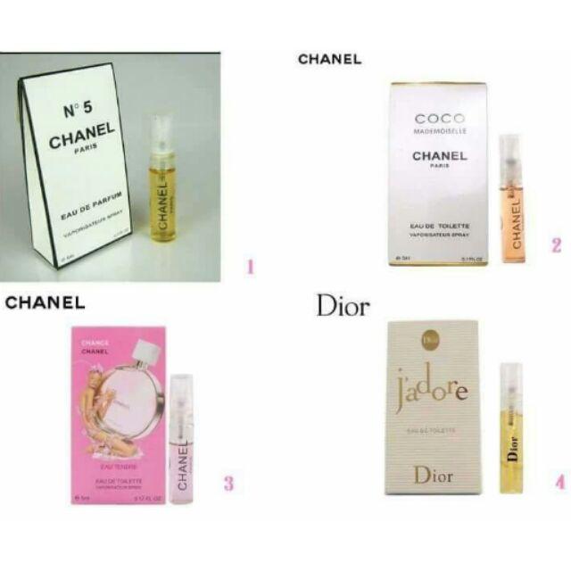 Chanel 香奈兒❤Dior 迪奧❤Anna sui 安娜蘇5ml 香水