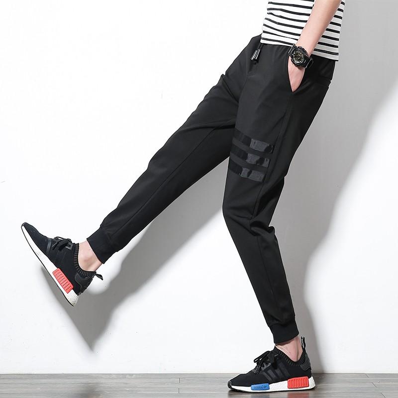 大 ~M 4XL ~ 潮男休閒褲青少年修身潮褲~長褲~~高質量~