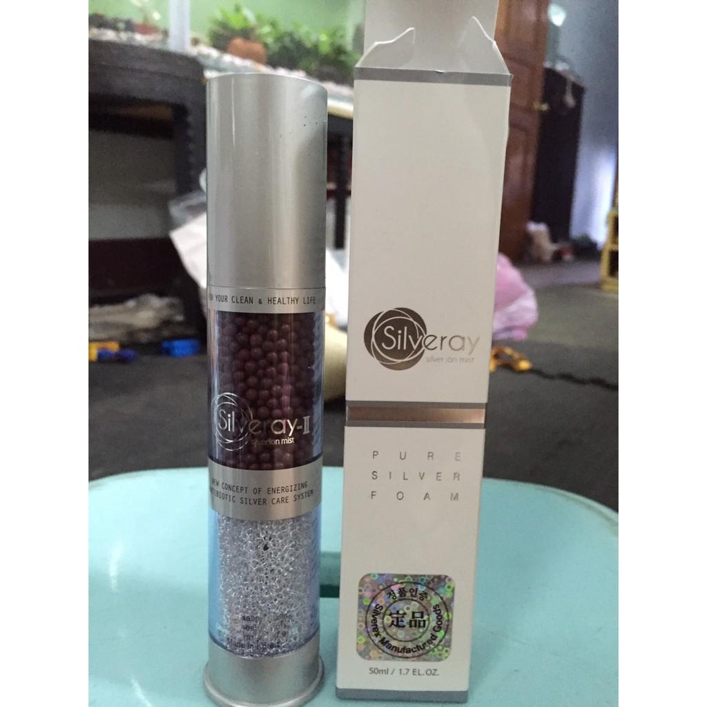 ~ 在台~韓國Silveray ion spray II 獲專利強效殺菌電氣石、銀網護膚離