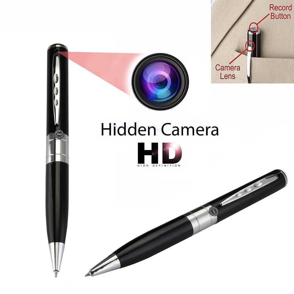 高清間諜隱藏針孔鋼筆攝影機
