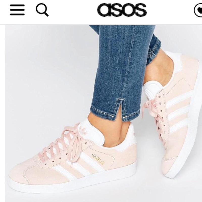 Adidas Originals Gazelle sneakers in pink