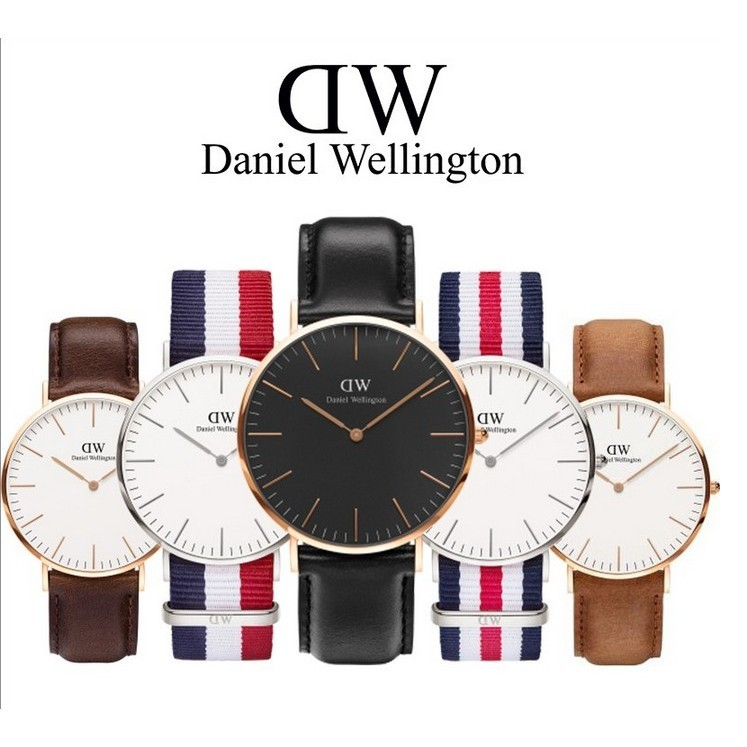 "Daniel Wellington DW 手錶男女情侶錶""不正包退""支持專櫃驗貨!! 一年"