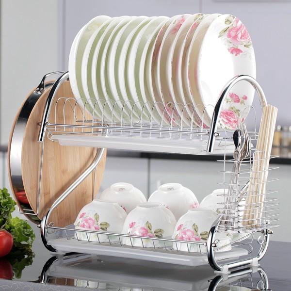 新奇特家庭廚房 工具日常 家居 日用品 小 碗架