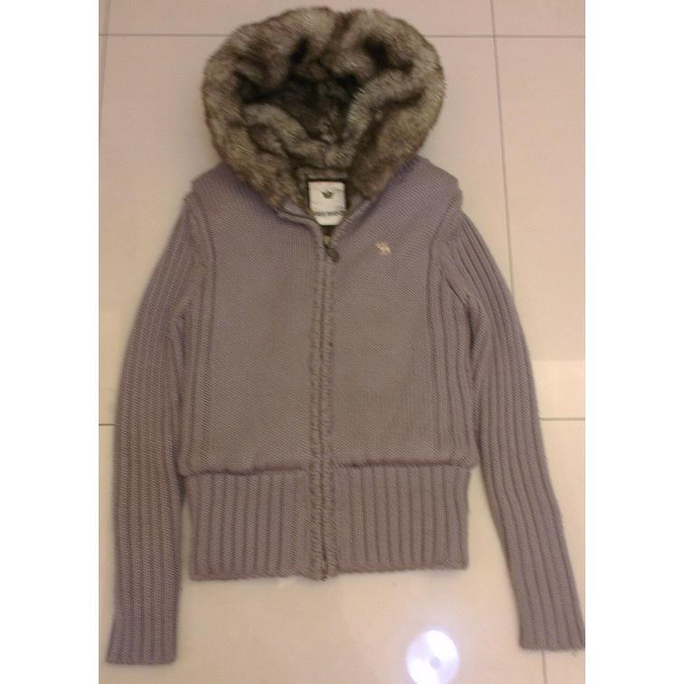九成新超保暖 內裡刷毛外套針織外套