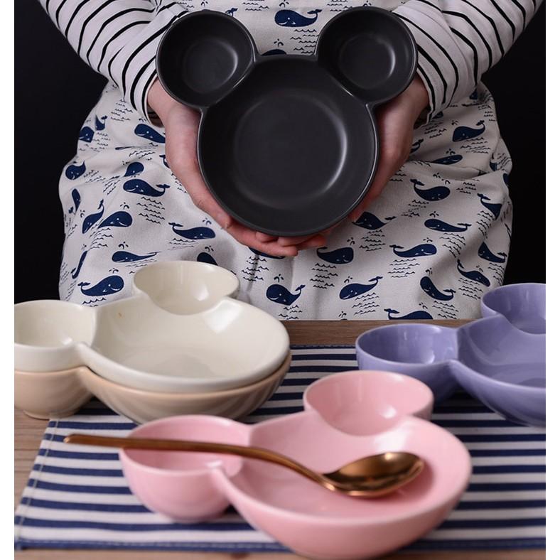 快閃 彩色米奇烤盤烤碗點心碗陶瓷米奇盤