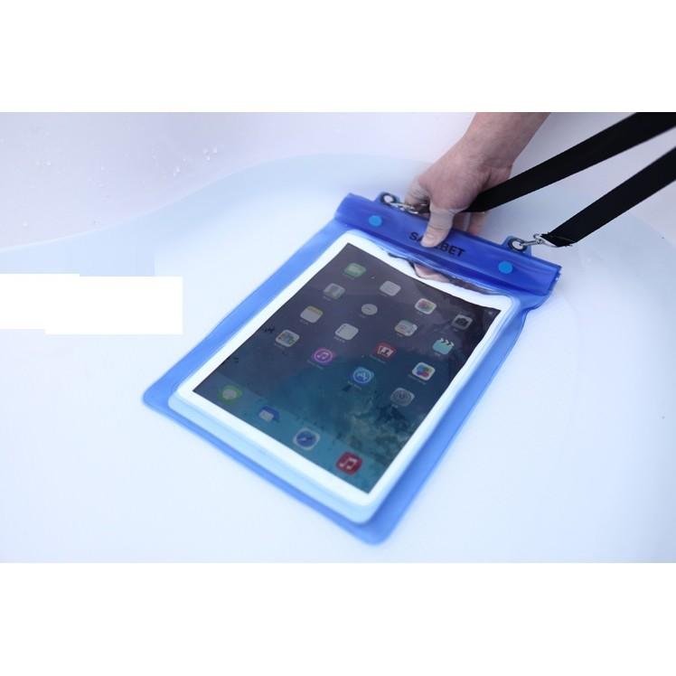雙層夾鏈袋朔溪浮淺水上活動時ipad 平板電腦小筆電超強防水袋防水套防水包大型包藍桃