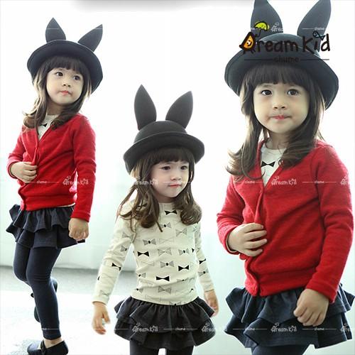 2016 韓國 兒童帽子男女童潮帽漁夫帽 帽小兔子可愛兔耳帽