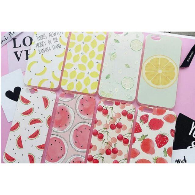 小清新水果檸檬蘋果保護套iphone6 plus 超薄浮雕硅膠防摔6s 手機殼4 7 寸5