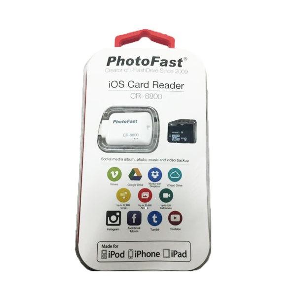 PhotoFast 蘋果microSD 讀卡機CR 8800 8G 記憶卡