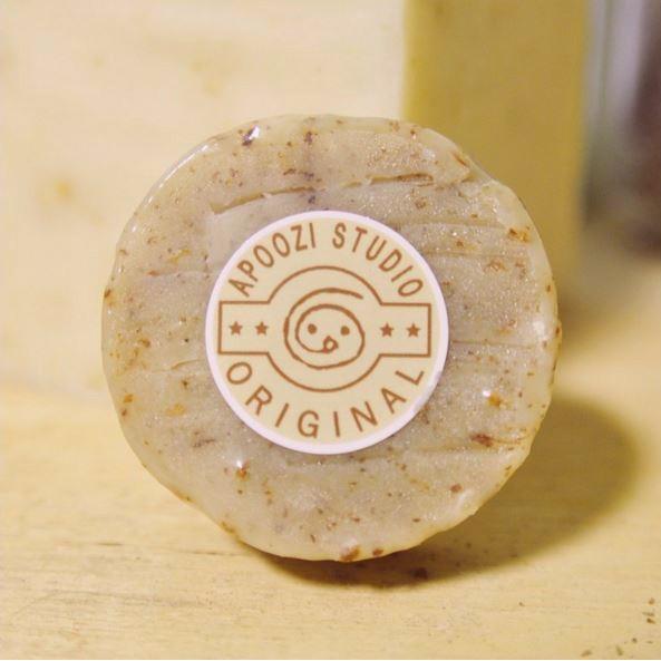 APOOZI 香草綠精靈洗髮皂