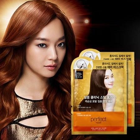 韓國Mise en scene 急救焗油護髮蒸氣髮膜20ml 15ml 玫瑰精華