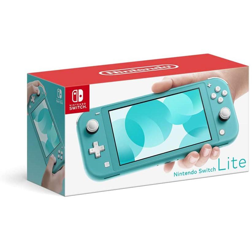 Nintendo Switch Lite 台灣公司貨主機優惠組合(藍綠)瑪莉賽車8 玻璃貼 販售中