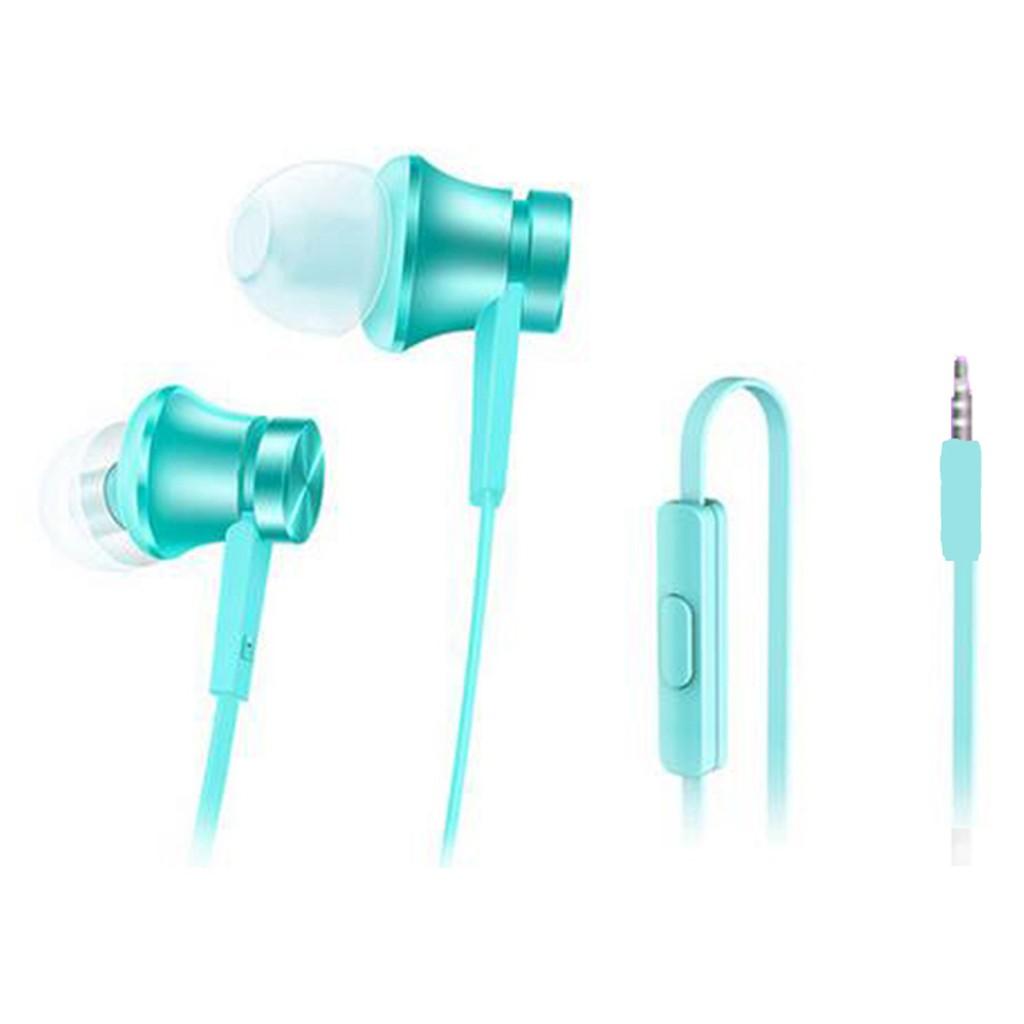 正品手機線控音樂耳機入耳式耳塞Xiaomi 小米小米活塞耳機藍色