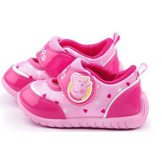 滿月舖童鞋2016 年 Peppa pig 佩佩豬粉紅豬小妹女童透氣 鞋 MIT 390元