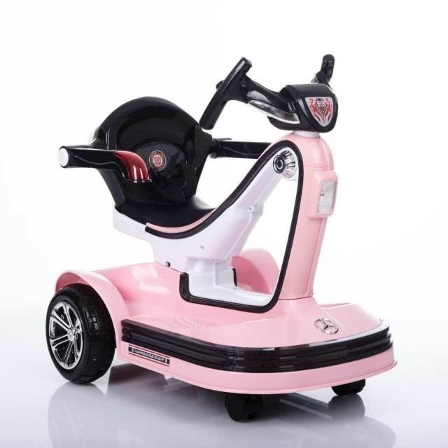 兒童電動車四輪童車嬰兒玩具汽車遙控男女寶寶可坐室內碰碰摩托車