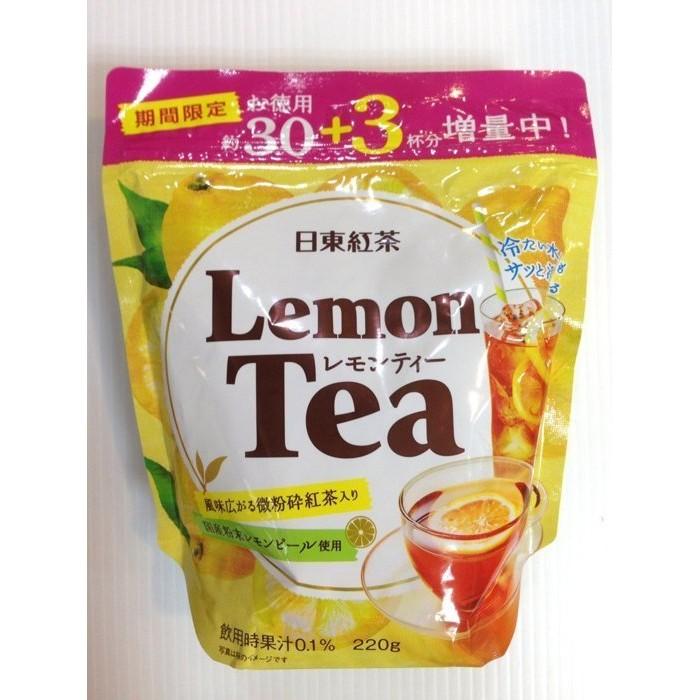 日東紅茶沖泡粉蘋果紅茶檸檬紅茶220g 期間限定德用30 3 杯增量包