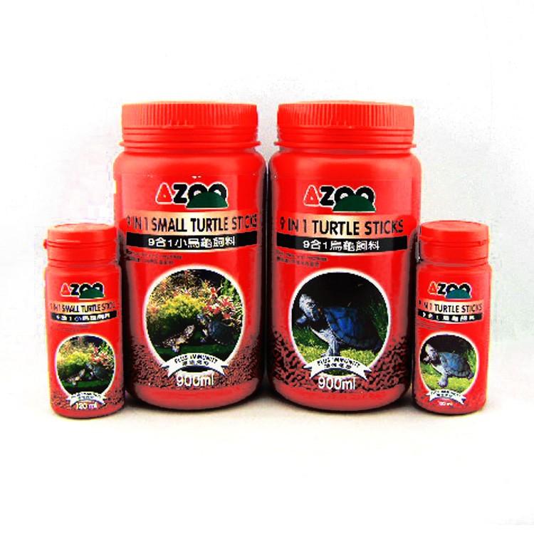 AZOO 9 合1 烏龜飼料900ml