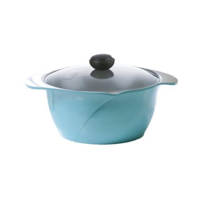 9 月中旬到貨~[10 ]正韓國製CHEF TOPE LA ROSE 玫瑰鍋雙柄湯鍋附玻璃