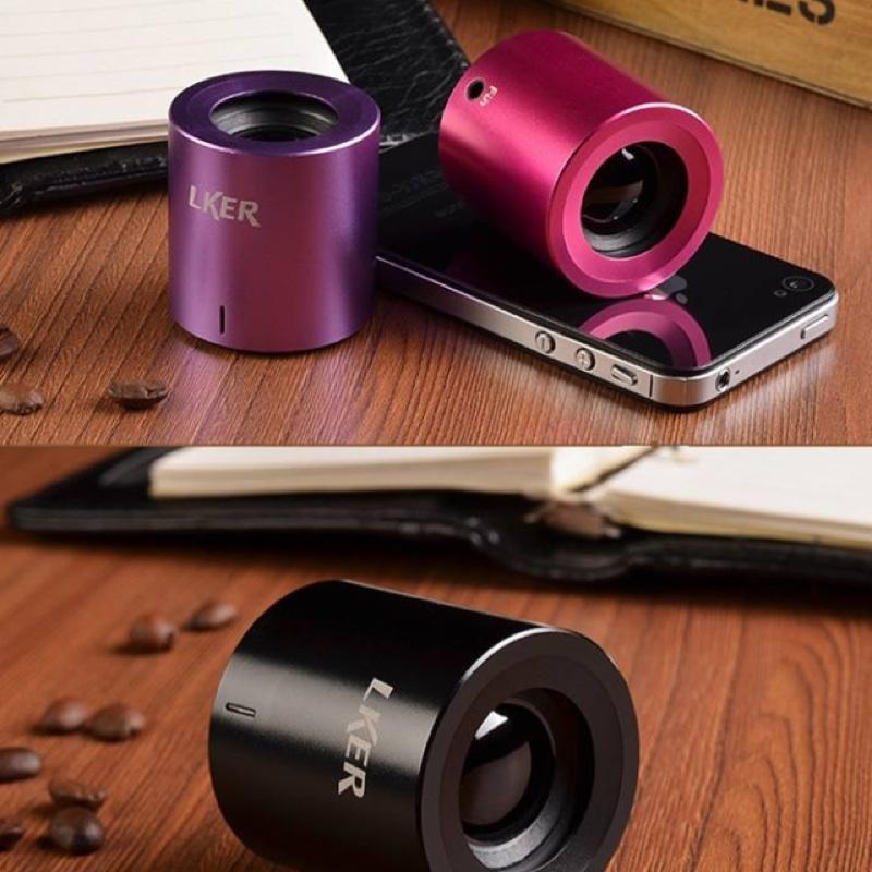 LKER FUN 無線迷你藍牙音響音箱五色連iPhone Sony 小米小鋼炮高音質