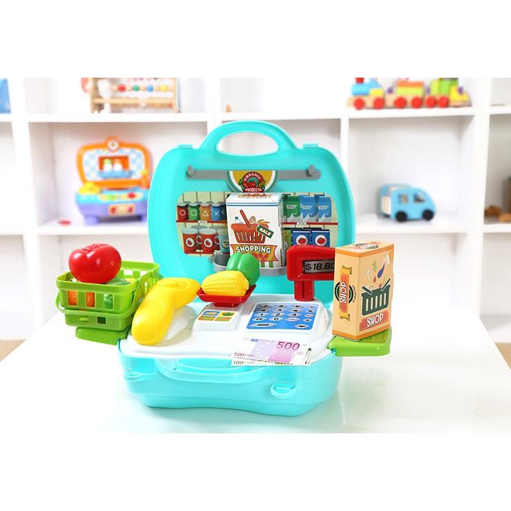 兒童手提式超市收銀機遊戲組 貨KP033 CA