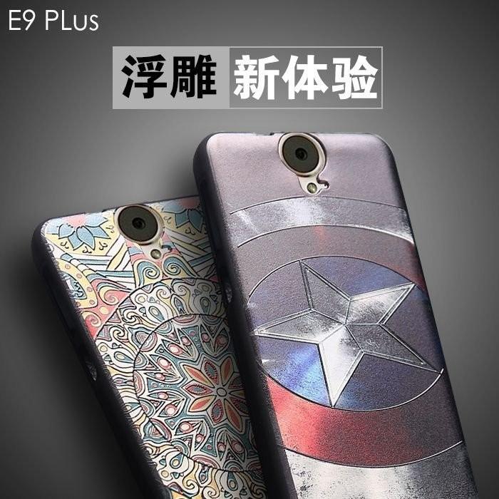卡通3D 立體浮雕矽膠防摔軟殼HTC ONE E9 手機套E9 plus 緩衝