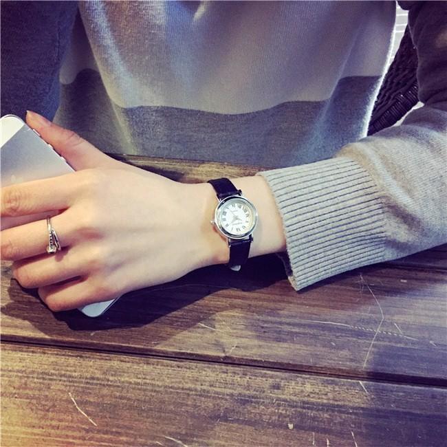 韓國森女生手錶女小表盤學生 簡約細帶小巧迷你復古mini 小清新