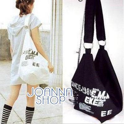 斜背包韓系立體感字母肩背包Joanna Shop