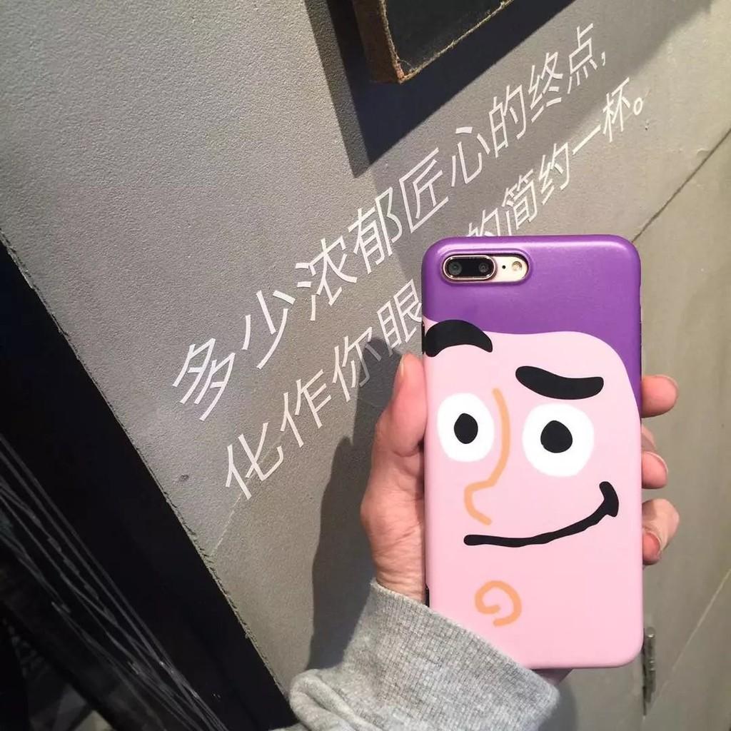 新品iPhone 手機殼iPhone6 7plus 保護殼玩具總動員胡迪巴斯光年卡通全包軟