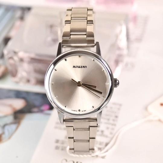韓國 商務簡約鋼帶防水女表女士手表 潮流氣質學生表時裝表