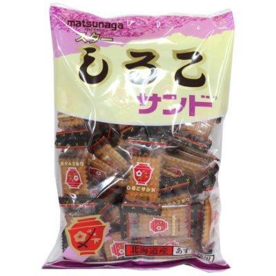 爆買  松永matsunaga 北海道紅豆夾心餅乾230g
