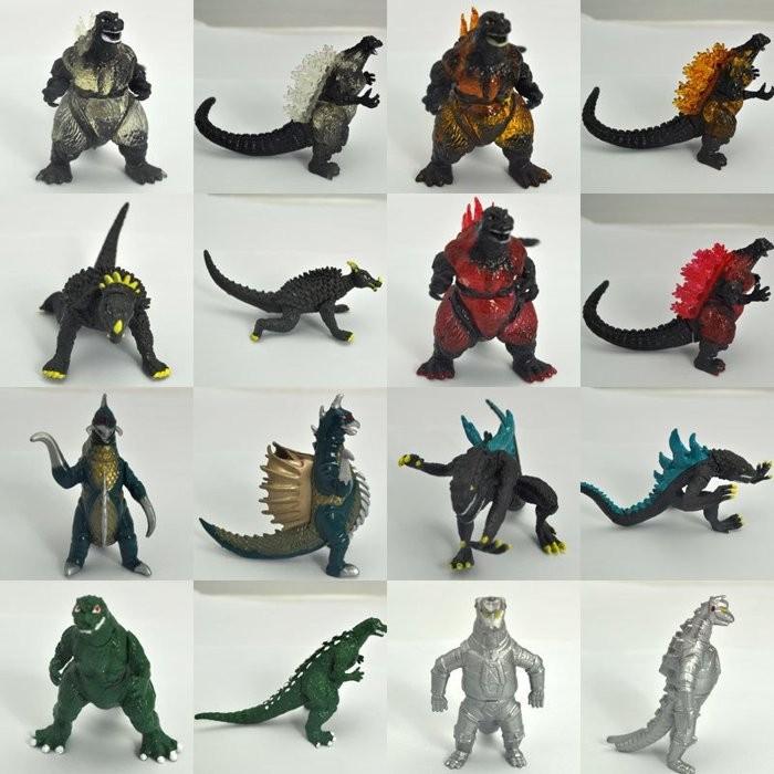 賈浪卡超能力霸王怪獸篇奧特曼壞人妖怪公仔假面騎士怪物超人人偶哥斯拉10 款怪獸玩具