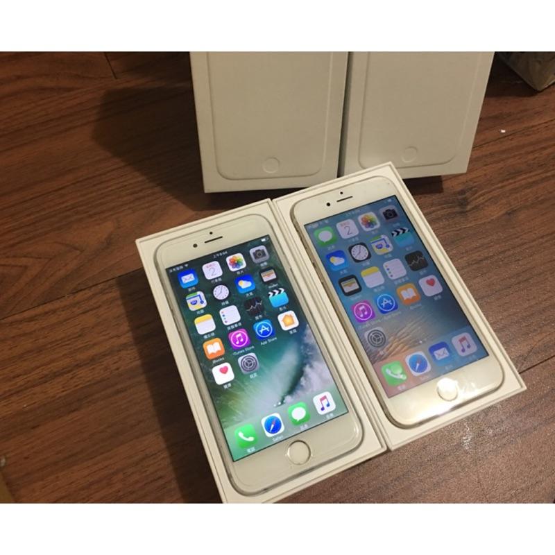 Iphone6 4 7 吋16g 金色灰色9 成新