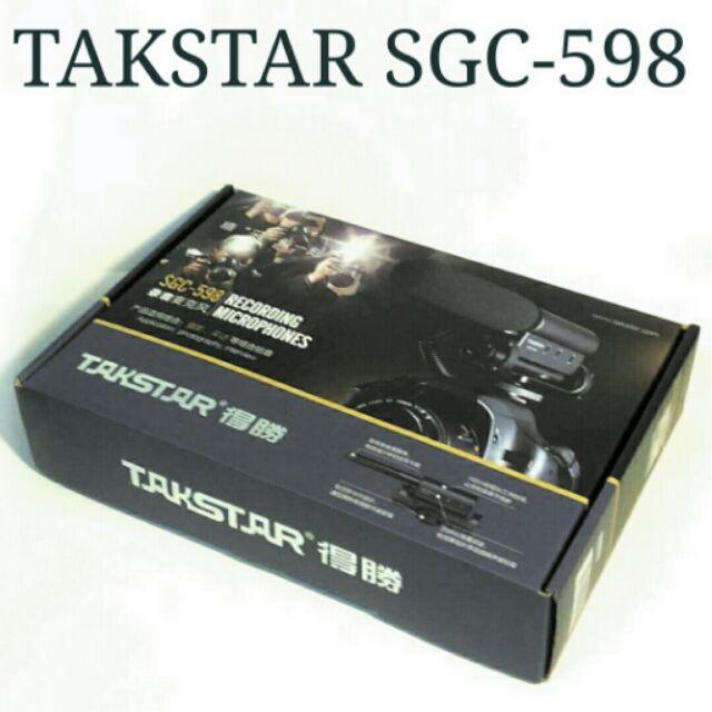 ~ ~Takstar SGC 598 型指向性收音麥克風