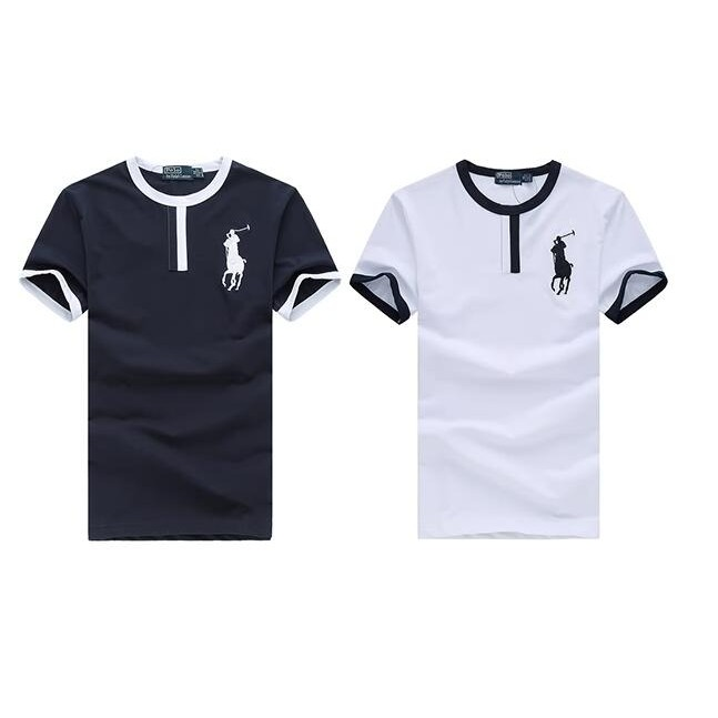 Ralph Lauren Polo 假T 領大馬標刺繡男款短袖T 恤短T SHIRT 短衫