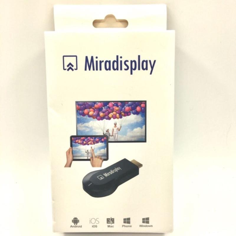 ~ ~大 2017 支援IOS 和安卓MiraScreen 無線HDMI 影音同步wifi