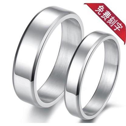 戒指男士配飾單身小指尾戒日韓潮飾品女鈦鋼食指指環簡約情侶對戒
