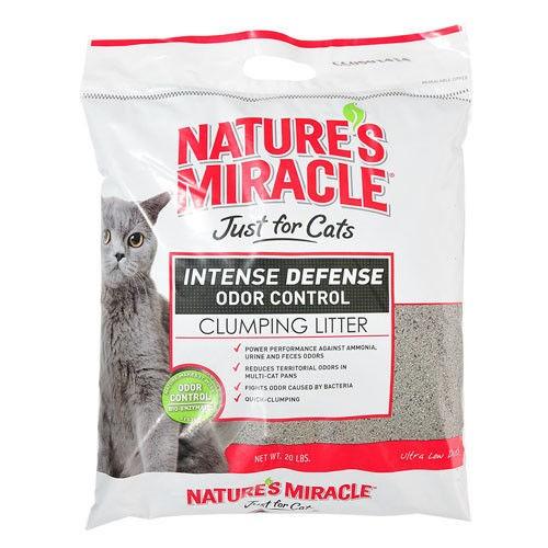 美國8in1 自然奇蹟天然酵素除臭凝結貓砂20LB 只能宅配