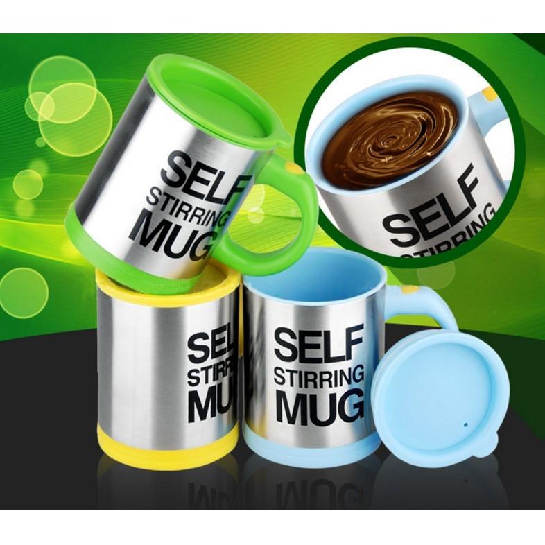 自動攪拌杯自動攪拌咖啡杯旋轉馬克杯杯子牛奶杯自動攪拌杯懶人神器 杯子茶杯打奶泡