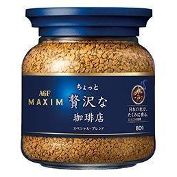 效期2018 12 |~MAXIM 贅澤華麗咖啡贅沢即溶咖啡罐裝80g ~|AGF |愛子