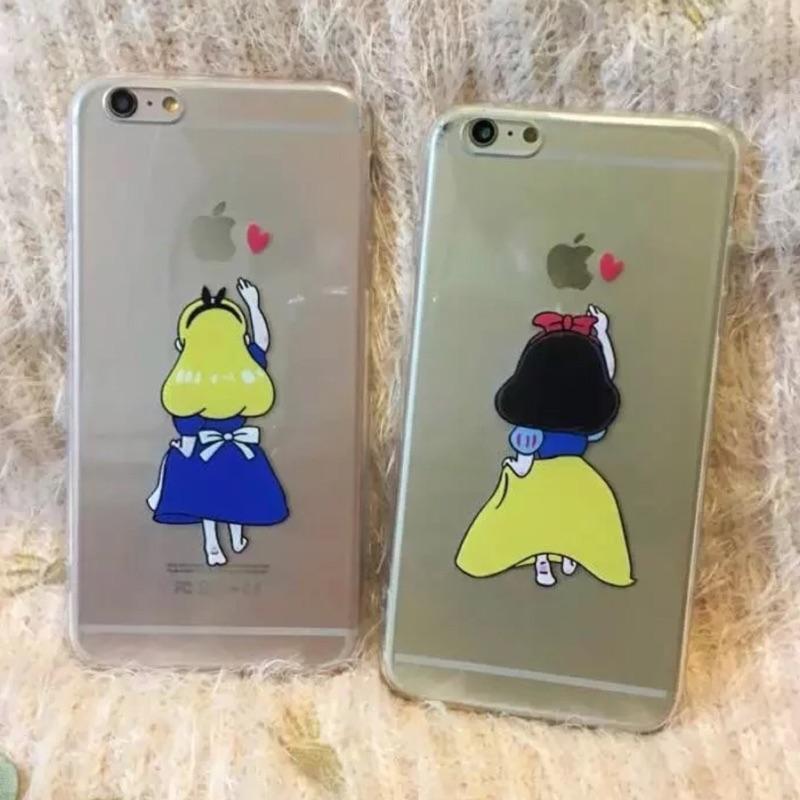公主背影系列iphone5 iphone6 iphone6plus 手機保護套手機殼